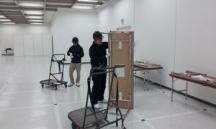 江東区,国際展示場駅の会場設営・撤去の短期アルバイト【WワークOK】の写真