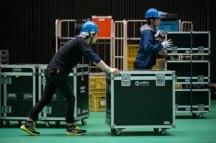 大阪市,大阪城公園駅の会場設営・撤去の短期アルバイト【日払い】の写真