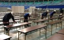 名古屋市,金城ふ頭駅の会場設営・撤去の短期アルバイト【日払い】の写真
