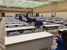 西尾市,桜町前駅の会場設営・撤去の短期アルバイト【日払い】の写真