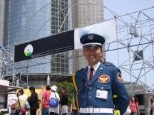 渋谷区,北参道駅の交通誘導・車両誘導の短期アルバイト【WワークOK】の写真