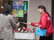貝塚市,貝塚(大阪府)駅のチラシ・ティッシュ配布の短期アルバイト【WワークOK】の写真