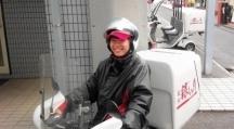 大田区,石川台駅のフードデリバリースタッフの短期アルバイト【日払い】の写真