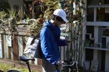 安城市,新安城駅のチラシ・ティッシュ配布の短期アルバイト【日払い】の写真