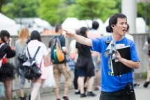 金沢市の会場設営・撤去の短期アルバイト【日払い】の写真