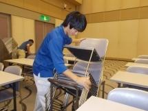 名古屋市,市役所駅の会場設営・撤去の短期アルバイト【日払い】の写真